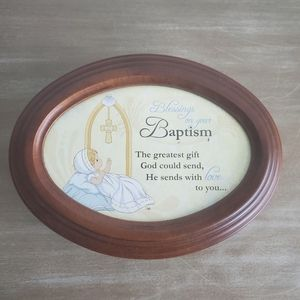 Precious Moments Blessings on Baptism Music Box